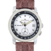 Baume & Mercier Mens Stainless Steel Automatic Chronograph...