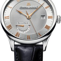 Maurice Lacroix Masterpiece Réserve de Marche Steel 40mm Silver United States of America, New York, Airmont