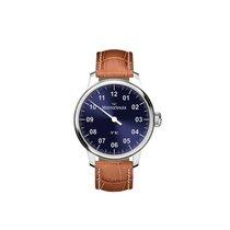 Meistersinger Uhren Herrenuhr Einzeigeruhr N02 AM6608N