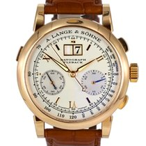 A. Lange & Söhne Datograph Red gold 39mm United States of America, Massachusetts, Boston