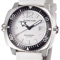 JeanRichard Aquascope Stainless Steel watch - List $3,100-