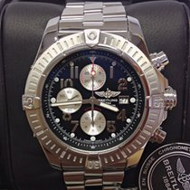 Breitling Super Avenger A13370 - Serviced By Breitling