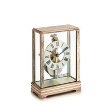 Jaeger-LeCoultre | A Stainless Steel Desk Clock