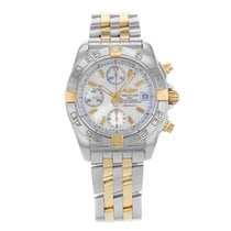 Breitling Galactic B13358L2/A700-366D 18K Yellow Gold Men's  ...