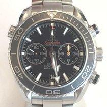 Omega Seamaster Planet Ocean Chronograph gebraucht Stahl