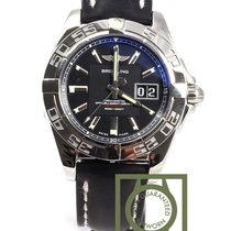 Breitling Galactic 300m 41mm Black Dial NEW