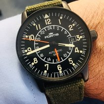 Fortis 596.18.148 GMT Flieger PVD