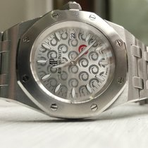 Audemars Piguet Royal Oak Alinghi steel bracelet box papers