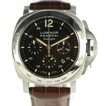 Panerai Luminor Chrono pre-owned 44mm Steel
