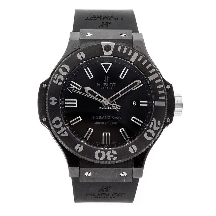 b41b75d9465 Hublot Big Bang Red Magic Black Dial Automatic Men s Watch 301CI1123GR .
