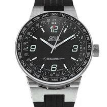 Oris 42mm Automatic 2006 pre-owned Williams F1 Black