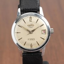 Enicar Steel 35mm Automatic 100/98 pre-owned