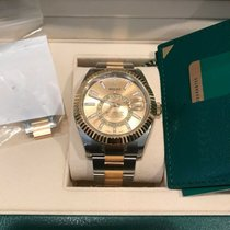 Rolex 42mm pre-owned Sky-Dweller