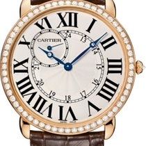 Cartier Ronde Louis Cartier Rose gold Silver United States of America, Florida, North Miami Beach