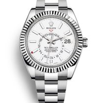 Rolex Sky-Dweller Steel 42mm White No numerals United States of America, New Jersey, Totowa
