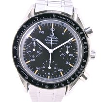 Omega Speedmaster Reduced Staal 39mm Zwart