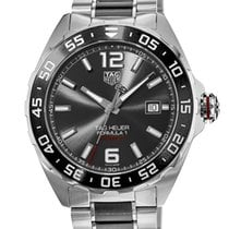 TAG Heuer Formula 1 Calibre 5 Steel 43mm Grey United States of America, New York, Brooklyn