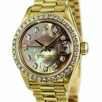 Rolex Lady-Datejust 26mm Alb