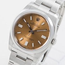Rolex Oyster Perpetual 36 Aço 36mm