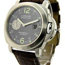 Panerai PAM 00086 PAM 86 - Luminor Marina in Steel - on Black...