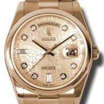Rolex Day-Date 36 118205 Não usado Ouro rosa 36mm Automático