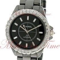 Chanel J12 Chromatic 41mm Automatic, Black Dial, Baguette...