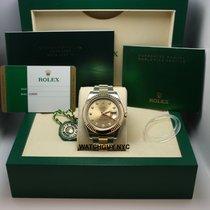 Rolex Champagne Diamond Dial