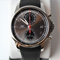 IWC Portugieser Yacht Club Chronograph neu 2020 Automatik Chronograph Uhr mit Original-Box und Original-Papieren IW390503