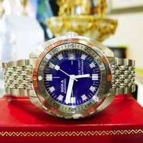 Doxa Sub 1200t Caribbean Diver Watch Limited Edition Stainless...
