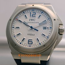 IWC Ingenieur Automatic Zeljezo 46mm Bjel Arapski brojevi