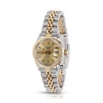 Rolex Date 6516 Women's Watch in Yellow Gold/Steel