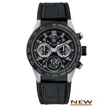 TAG Heuer Carrera Calibre Heuer 02T Tourbillon | 45MM