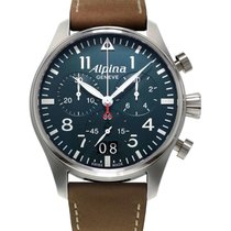 Alpina Steel 44mm Quartz AL-372N4S6 new