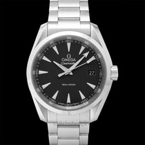 Omega Seamaster Aqua Terra 150M Quartz 38.5mm Black Steel -...