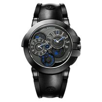 963ceab14d52 Harry Winston Ocean Dual Time Black Edition OCEATZ44ZZ007