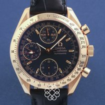 Omega Rose gold Automatic pre-owned Speedmaster Day Date