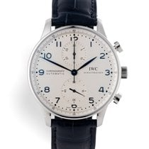 IWC Portuguese Chronograph pre-owned 40.9mm Steel