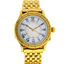 Longines Lindbergh Hour Angle Yellow gold 38mm White United States of America, Florida, Boca Raton
