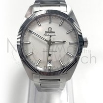 Omega Globemaster Staal 39mm Zilver