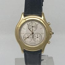 Cartier Cougar Yellow gold 32mm White No numerals United Kingdom, London