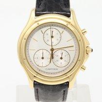Cartier Cougar Oro amarillo 32mm Blanco Sin cifras