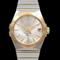 Omega Constellation Men Yellow gold 38mm Silver United States of America, California, San Mateo
