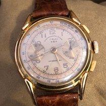 Chronographe Suisse Cie Çelik 37mm Elle kurmalı 1587 ikinci el