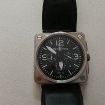 Bell & Ross BR 01-94 Chronographe nouveau 2011 Remontage automatique Montre avec coffret d'origine et papiers d'origine BR 01-94-S-04407