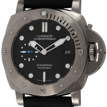 Panerai PAM 1305 Titanium 2018 Luminor Submersible 1950 3 Days Automatic 47mm pre-owned United States of America, Texas, Austin