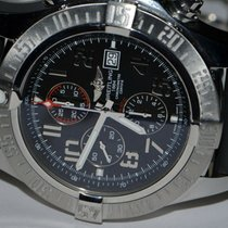 Breitling Super Avenger Steel 48mm Black Arabic numerals United States of America, New York, Greenvale