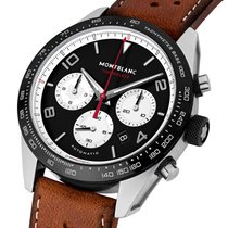 Montblanc Timewalker 119942 Timewalker Manifattura Cronografo Acciaio Pelle 2020 new