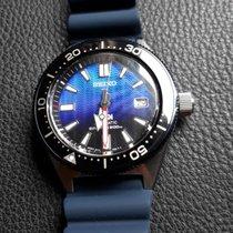 Seiko Prospex Steel 42.6mm Blue No numerals