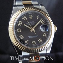 Rolex Datejust II Steel 41mm Black Arabic numerals