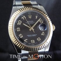 Rolex Datejust II Acier 41mm Noir Arabes France, Paris
